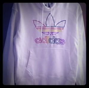 Adidas love unties medium hoodie sweat shirt